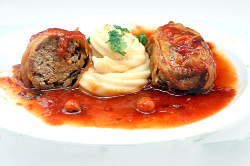 Stuffed Cabbage Rolls - Like Grandma Used To Make - Parsley, Sage, and ...