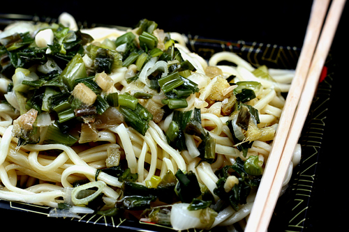 Ginger Garlic Scallion Noodles and the Winner of the Le Creuset Oval ...