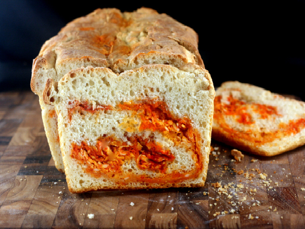 Crusty Sriracha Cheddar - Pepper Jack Swirl Bread for BBD #53 ...